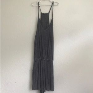 brandy melville striped romper